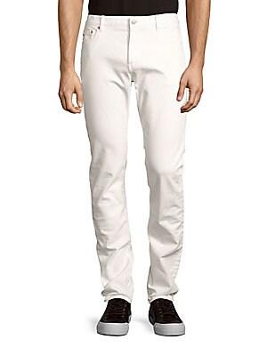 michael kors male cottonblend slimfit denim jeans