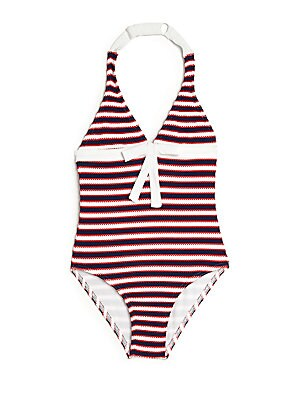 Toddler's, Little Girl's & Girl's One-Piece Baby Maddie Swimsuit