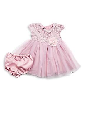 Baby's Lace Cap Sleeve Dress