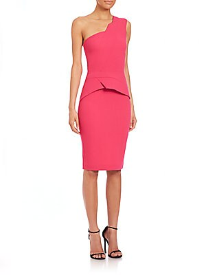 Godfrey One-Shoulder Sheath Dress