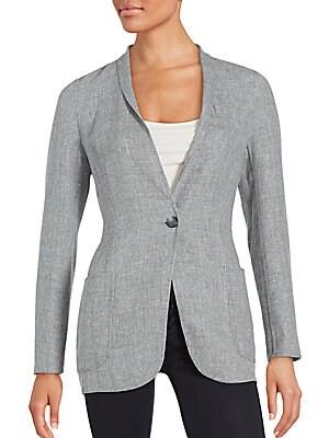 Linen Blend Jacket
