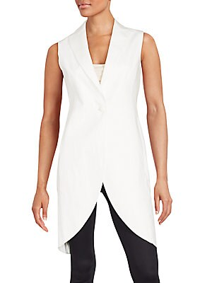 Casey Sleeveless Tailcoat