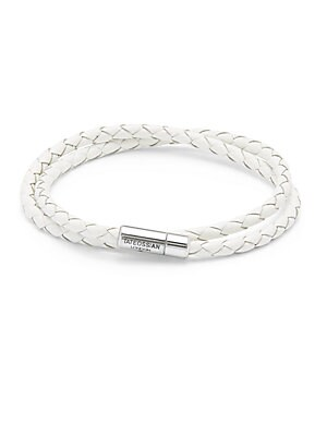 Braided Sterling Silver Bracelet