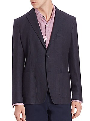 michael kors male linen cotton blazer