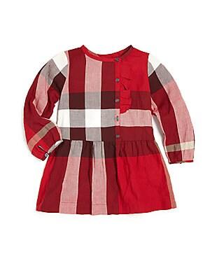 Baby's & Little Girl's Plaid-Print Dress