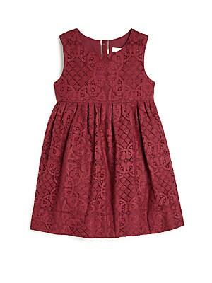 Little Girl's & Girl's Lace Dress