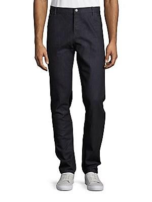 michael kors male slimfit cotton jeans