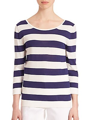 Ordito Striped Sweater