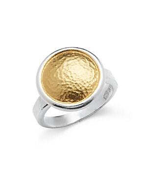 24K Gold Vermeil Ring