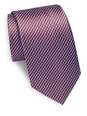 Tessellating Silk Tie