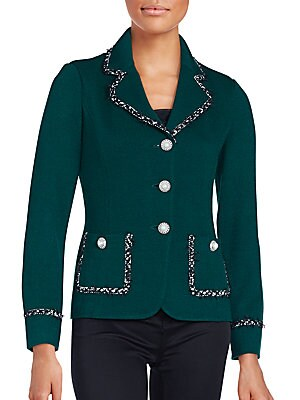 Santana Wool-Blend Jacket