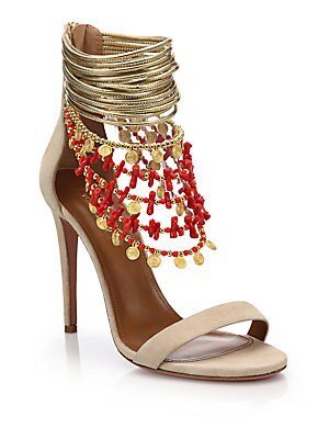 Queen of the Nile Embellished Sandals