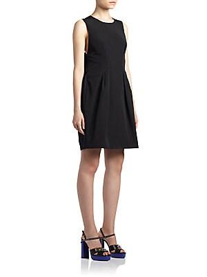 Sleeveless Bow-Back Dress