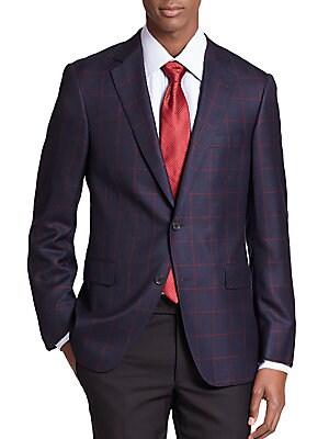 Samuelsohn Windowpane Check Sportcoat