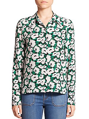 Wilson Small Poppy Print Shirt