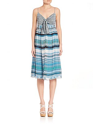 Square Stamps Malina Dress