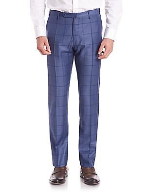 Fancy Plaid Pants