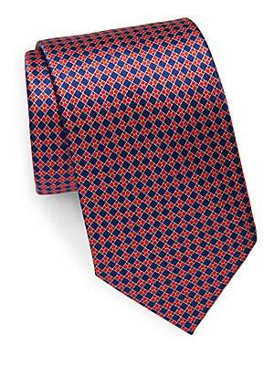 Printed Italian Silk Tie