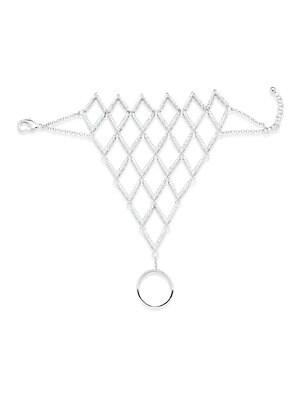 Cubic Zirconia Ring Bracelet
