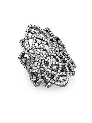 Crystal Pave Ring