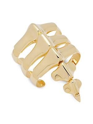 18KT Gold Plated Spine Bracelet