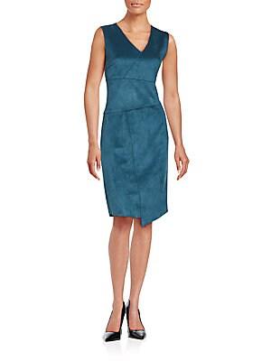 Paneled Sleeveless Dress