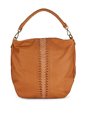 Leather Zipped Handbag