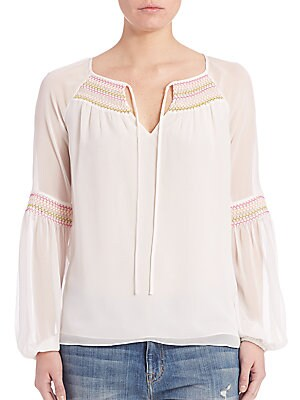 Sammy Silk Blouse