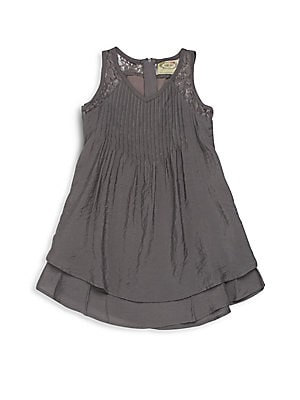 Little Girl's Diana Lace Trim Dress