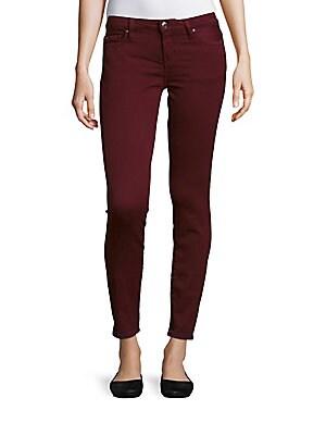 Five-Pocket Ankle-Length Jeans