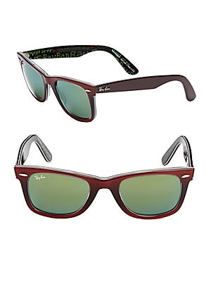 Square Wayfarer Sunglasses