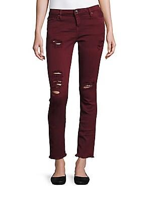 Jarod Slim-Fit Distressed Jeans