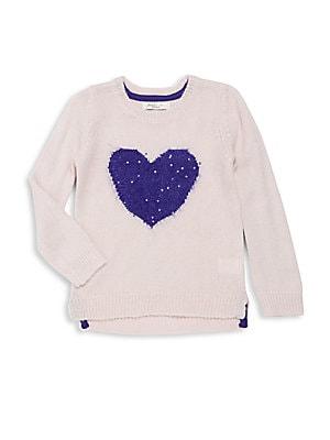 Little Girl's Rib-Knit Pullover
