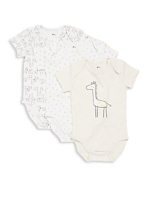 Baby's Three-Pack Bodysuit Set