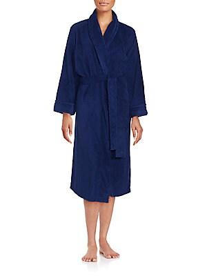 Textured Bath Robe