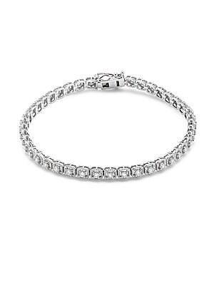 Diamond & 14K White Gold Illusion Bracelet