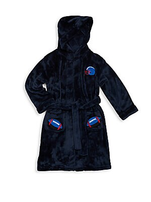 Boy's Super Bowl Hooded Robe