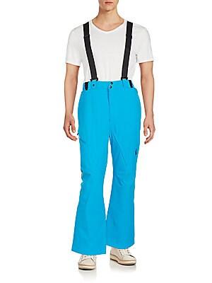 Bormio Wide-Leg Suspender Pants