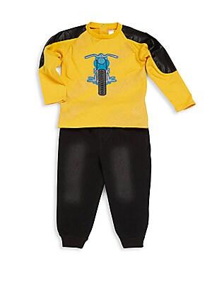 Baby's Raglan Tee & Pants Set