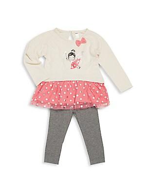 Baby's 2-Piece Star Tunic & Leggings Set