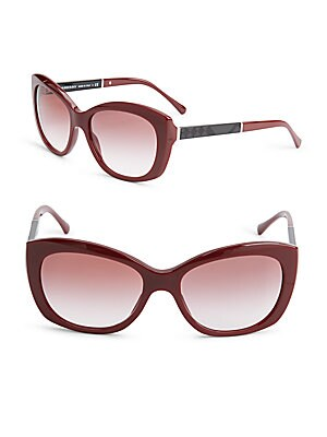 55MM Wide Rim Butterfly Sunglasses