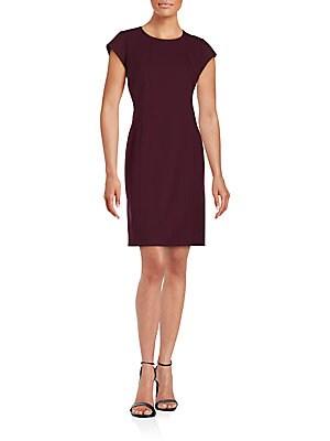 Dixon Solid Sheath Dress
