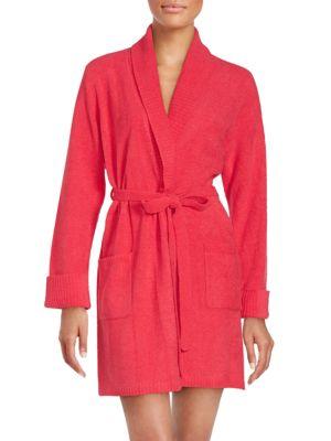 Long Sleeve Cotton Bath Robe Betsey Johnson