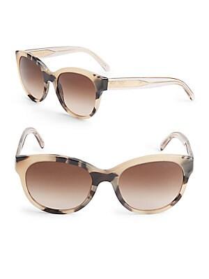 54MM Tortoiseshell Butterfly Sunglasses