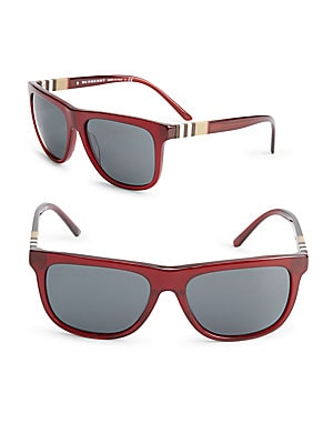 58MM Bold Wayfarer Sunglasses