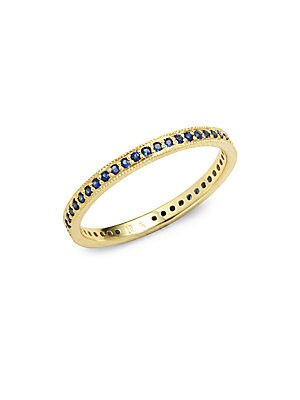 Click here for Dakota Sapphire & 14K Yellow Gold Band prices