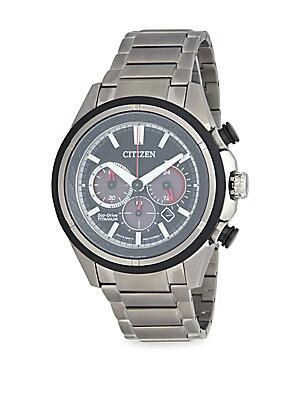 Eco-Drive Titanium Bracelet Watch
