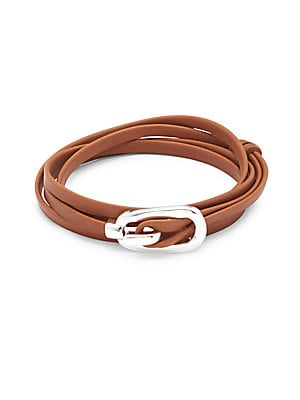 Leather Strap Wrap Bracelet