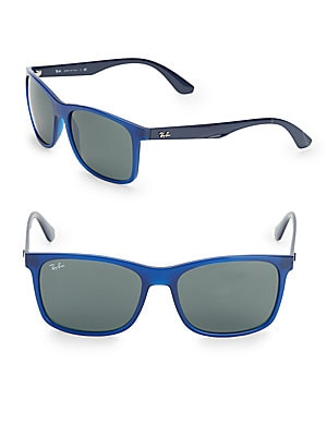17MM Blue Wayfarer Sunglasses