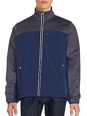 Bonded Colorblocked Jacket